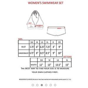 8a3cdfe069f Swim - NWOT USA Flag Halter Top   Hot Shorts 2 Swimwear